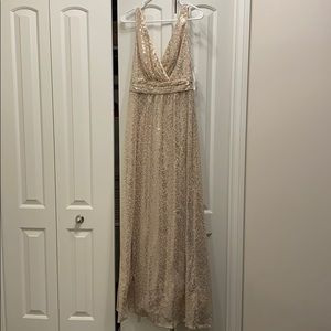 Golden Bridesmaid or NYE dress